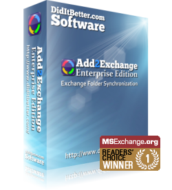 Packaging for Exchange sync software