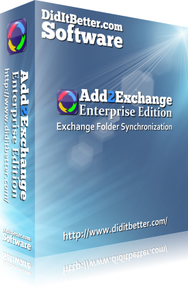 Add2Exchange Enterprise Exchange Sync Packaging