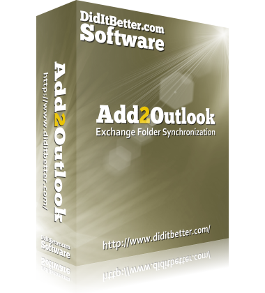 Packaging for Add-ons of Add2Exchange Exchange sync software