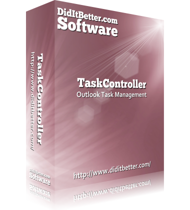 Packaging for TaskController Outlook group task management software
